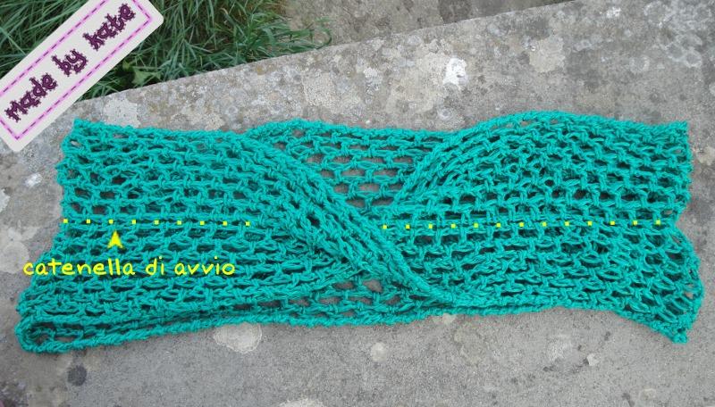 Scialle Uncinetto Il Nastro Di Mobius Made By Kate