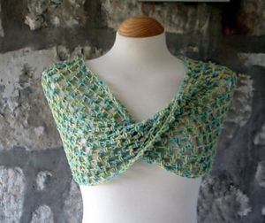 crochet mobius wrap
