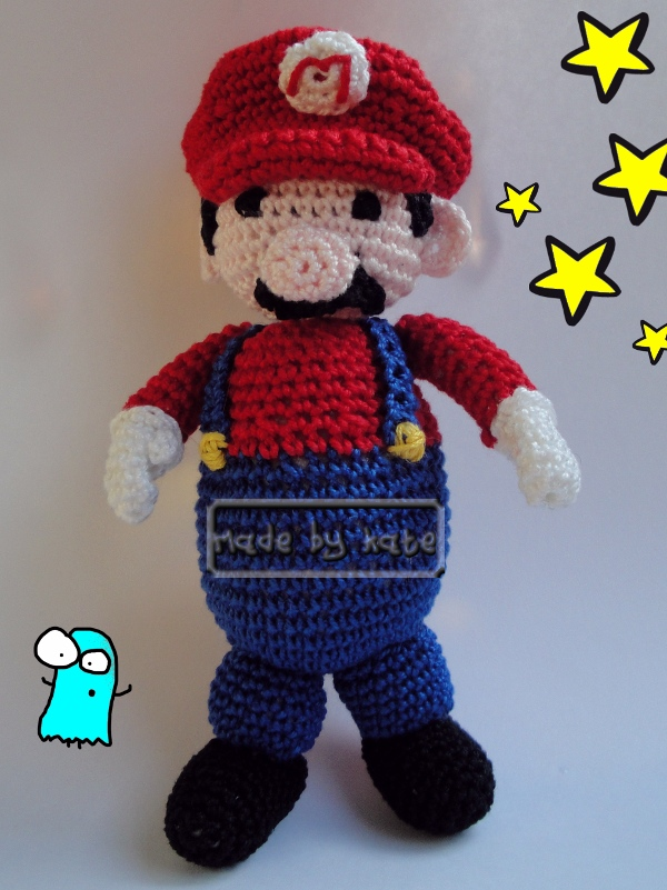 Amigurumi Mario Anleitung : Uncinetto: amigurumi Super Mario Made by Kate