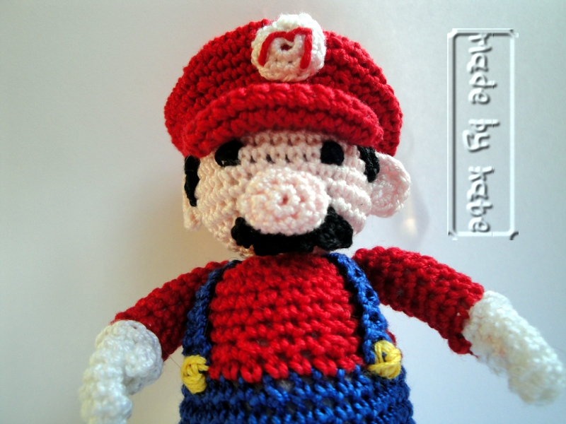 Amigurumi Uncinetto Schemi : Uncinetto amigurumi super mario made by kate