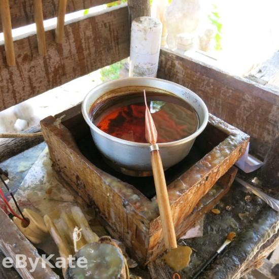 corso di batik cera