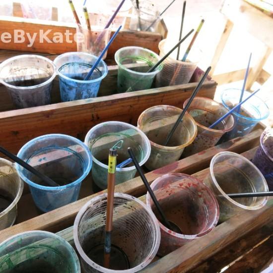 corso di batik colori
