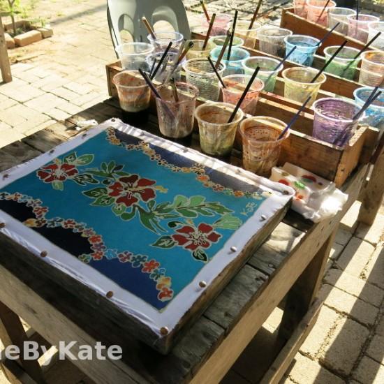 quadro batik