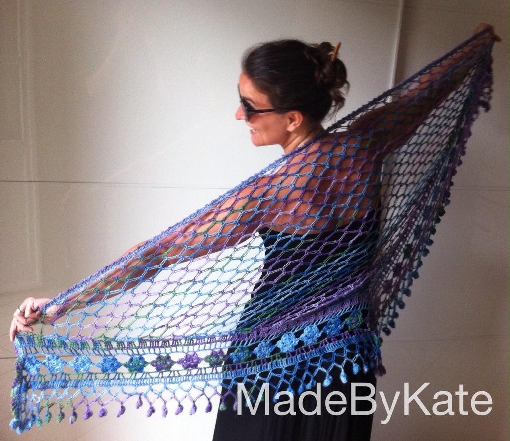 Uncinetto Il Mio Scialle Dellestate 2014 Made By Kate
