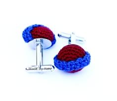 cufflink crochet