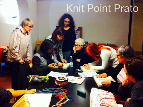 Morena Macramè al Knit Point Prato