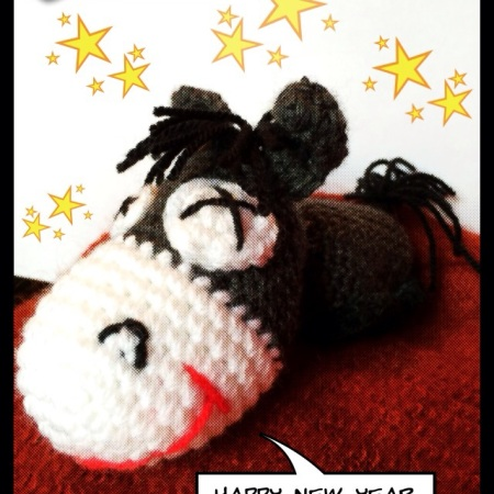 happy new year crochet