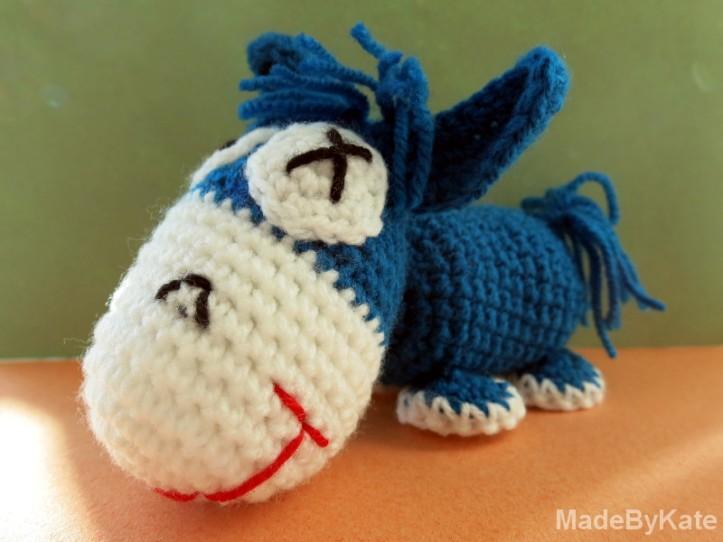 amigurumi donkey crochet