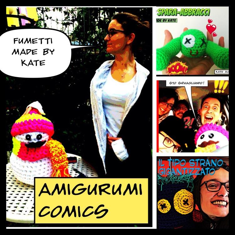 Fumetti Amigurumi by Kate Alinari