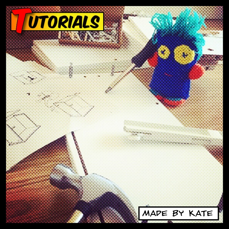 Tutorials | DIY | How to | Made by Kate