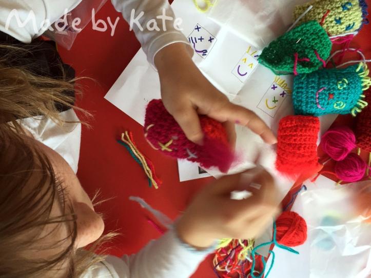 crochet brush amigurmi kids