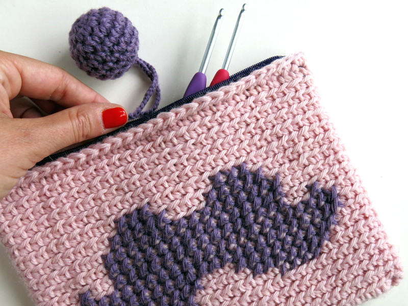 crochet astucchio kate alinari