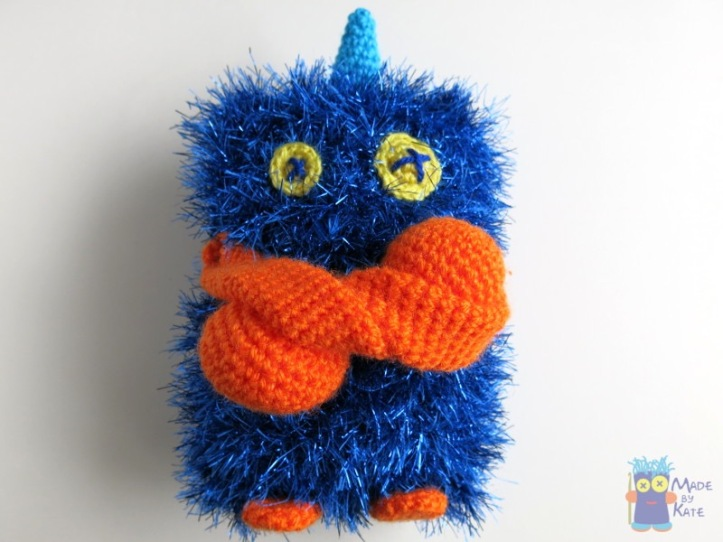 amigurumi monster kate alinari