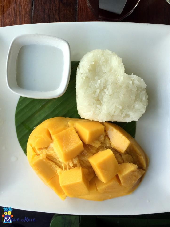 mango e riso glutinoso